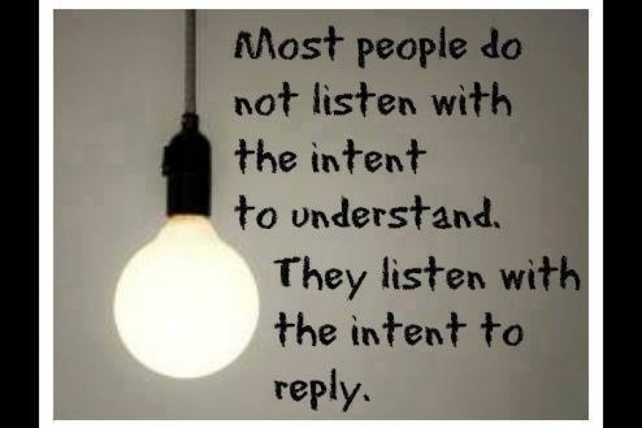 Are you a good Listener? Listening skills?
