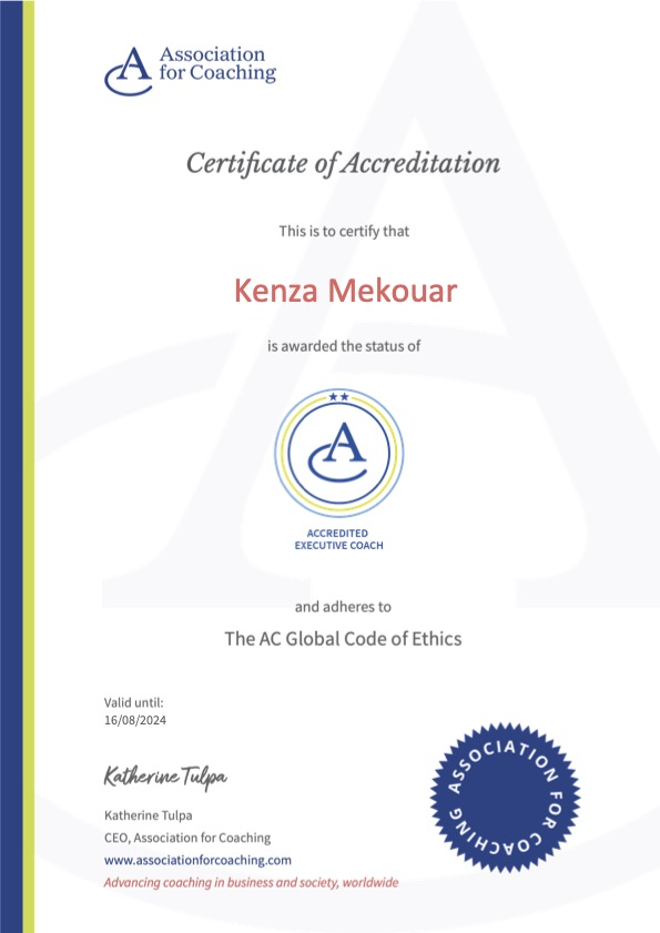 Association for Coaching Advanced Certification